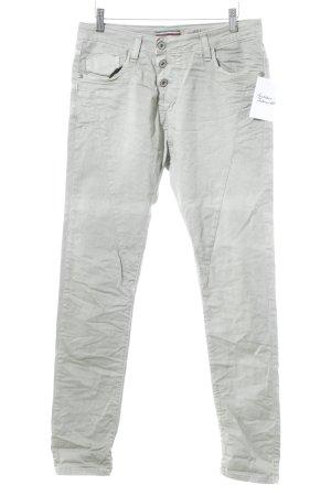 Please Now Straight-Leg Jeans blassgrün-hellgrün klassischer Stil