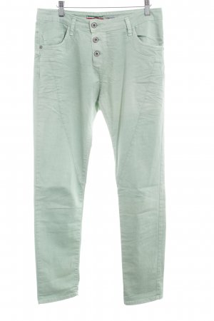 Please Now Straight-Leg Jeans hellgrün schlichter Stil
