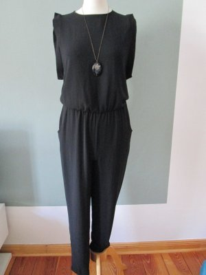 Please Overall/Jumpsuit schwarz Gr. S