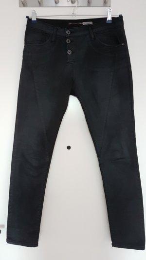 PLEASE P78A schwarz Denim gecoated Gr. XS (fällt größer aus!)
