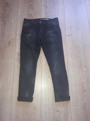 Please Jeans boyfriend noir