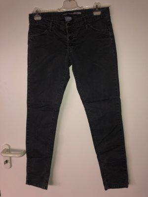 PLEASE Denim Low Rise Jeans steel blue