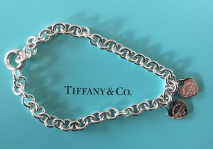 Please Return to Tiffany & Co. Armband, 2 kleine Herz Anhänger
