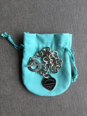 Please return to Tiffany & Co. Armband, Herz und Knebelschließe