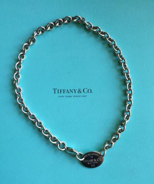 Tiffany&Co Link Chain silver-colored real silver