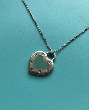 Tiffany&Co Collar estilo collier color plata-turquesa plata verdadero