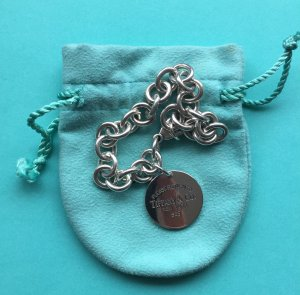 Please return to Tiffany & Co. New York Armband mit rundem Anhänger