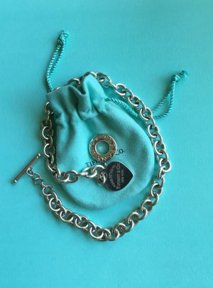 Please return to Tiffany & Co. RTT Halskette mit Herz & Knebelverschluss (Toggle)