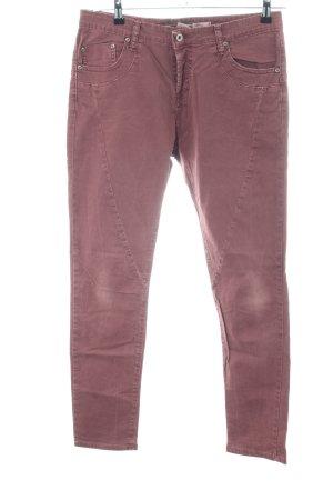 Please Röhrenhose pink Casual-Look