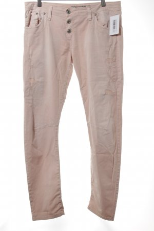 Please Röhrenhose rosé Casual-Look