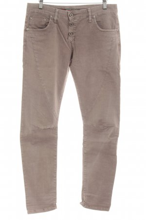 Please Röhrenjeans beige meliert Casual-Look