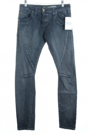 Please Tube Jeans grey-natural white casual look