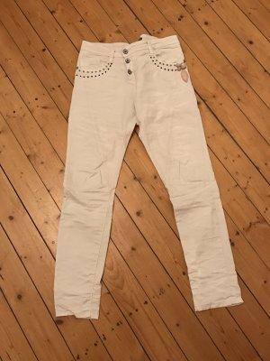 Please Skinny Hose mit Strechanteil neu und Nieten 120€