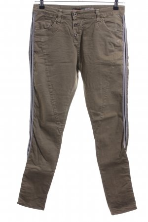 Please Skinny jeans khaki-blauw casual uitstraling
