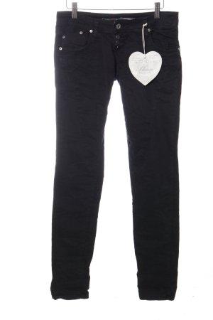 Please Skinny Jeans schwarz Casual-Look