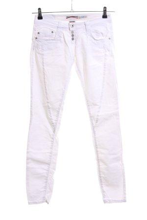 Please Skinny Jeans weiß Casual-Look