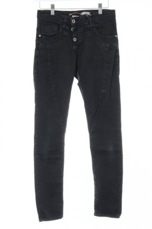 Please Skinny Jeans anthrazit Casual-Look