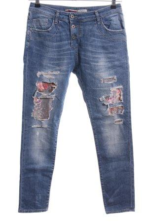 Please Skinny Jeans blau Casual-Look
