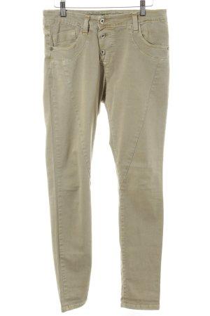 Please Skinny Jeans beige-sandbraun Casual-Look
