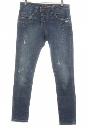 Please Skinny Jeans blau Casual-Look