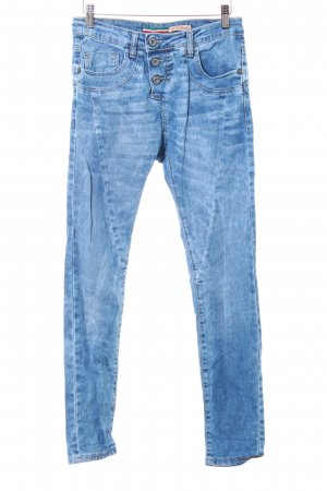 Please Skinny Jeans blau Jeans-Optik