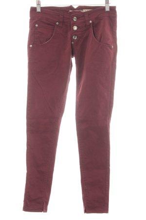Please Skinny jeans braambesrood casual uitstraling