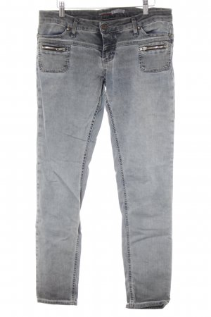 Please Skinny Jeans dunkelgrau Casual-Look