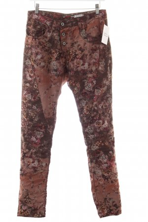 Please Skinny Jeans florales Muster Casual-Look