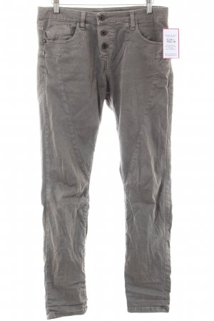 Please Skinny Jeans grau Casual-Look