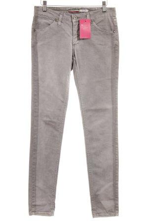 Please Skinny Jeans grau Casual-Look