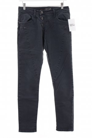 Please Skinny Jeans graublau Casual-Look
