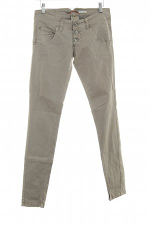 Please Skinny Jeans graubraun Casual-Look