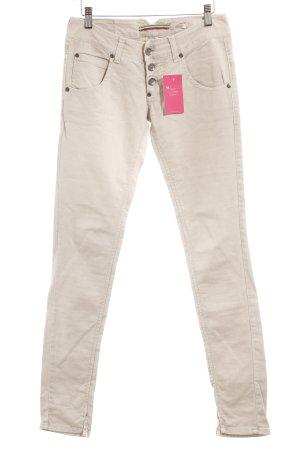 Please Skinny Jeans hellbeige Casual-Look