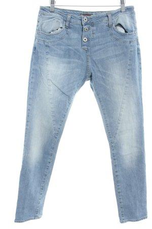 Please Skinny Jeans hellblau Casual-Look