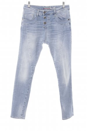 Please Skinny Jeans hellblau Jeans-Optik