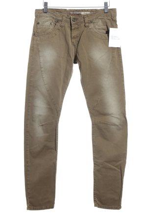 Please Skinny Jeans hellbraun Casual-Look