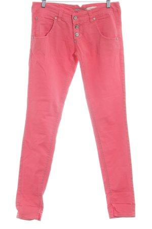 Please Skinny Jeans hellrot Casual-Look