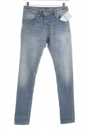 Please Skinny Jeans himmelblau Casual-Look
