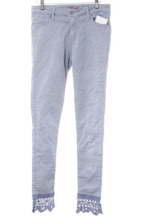 Please Skinny Jeans himmelblau Casual-Look