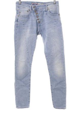 Please Skinny Jeans himmelblau schlichter Stil