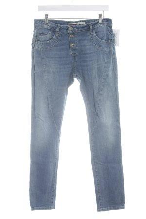 Please Skinny Jeans kornblumenblau Casual-Look