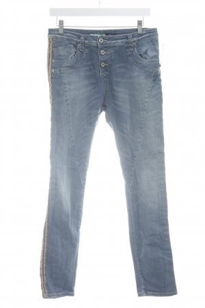 Please Skinny Jeans kornblumenblau Casual-Look