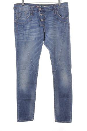 Please Skinny Jeans kornblumenblau Jeans-Optik