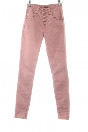 Please Skinny Jeans roségoldfarben Casual-Look
