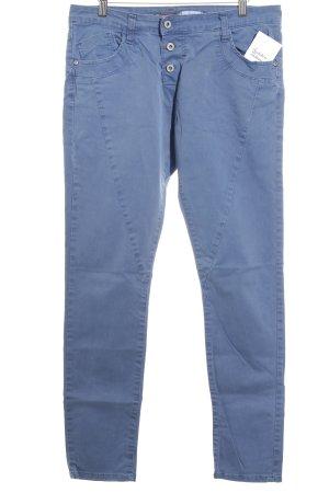 Please Skinny Jeans stahlblau Casual-Look
