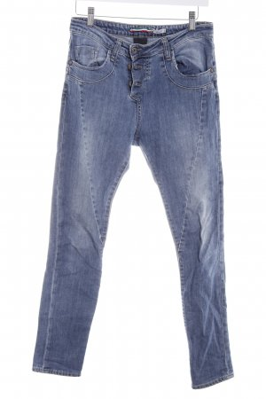 Please Skinny Jeans stahlblau Casual-Look