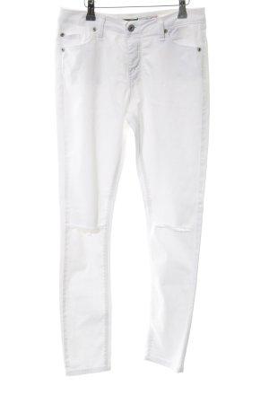 Please Skinny Jeans weiß schlichter Stil