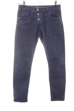 Please Jeans slim noir style décontracté