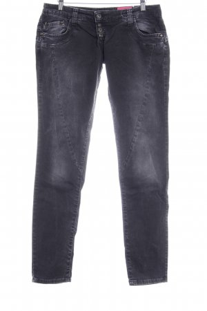Please Slim Jeans anthrazit Casual-Look