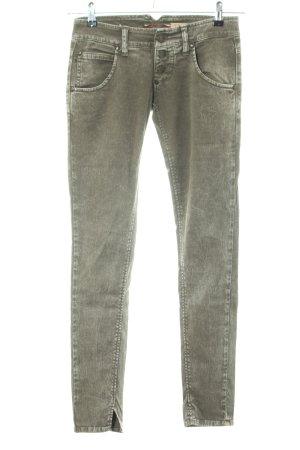 Please Slim Jeans khaki Casual-Look